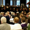 Allsong  og  korsong  i  fullsett  Festsal
