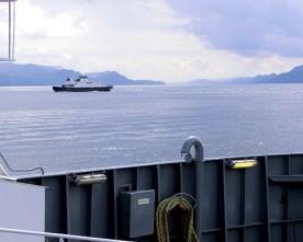 Ny  ferjestødebatt  for  å  korta  reisetida    Leirvik  –  Husnes