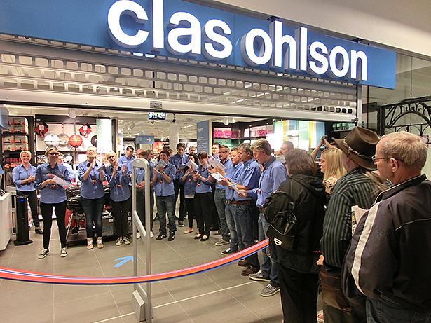 Stor interesse for Clas Ohlson Stordnytt