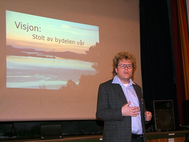 Inspirerande og engasjerande foredrag av Dag Jørund Lønning.