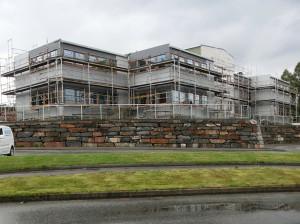 Langeland skule har fått ny etasje på nybygget  til skulestart denne hausten