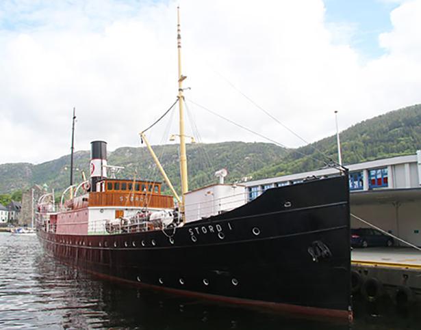 «Stord I» er restaurert tilbake til slik skipet var i 1931.