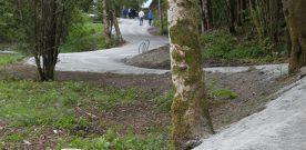 –  Ådlandsvatnet  turveg  er  framleis  under  arbeid
