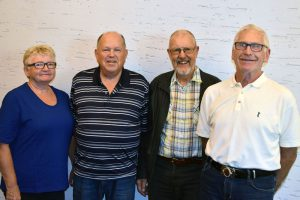 Tove Dypå Lunde, Peder Aasheim, Jakob Eldøy og Kristian Lunde.