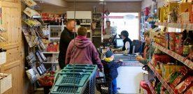 Jubileum  og  Post  i  butikken