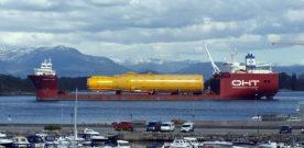 Mølle-flytarane  blir  sjøsette  på  Vikafle