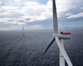 Turbinane  vel  plasserte  på  Buchan  Deep