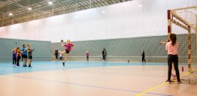 Leik  og  læring  på  handballskule