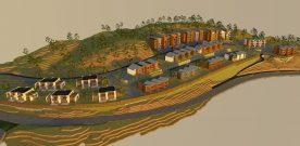 Byggjer  110  husvære  i  Vestlio