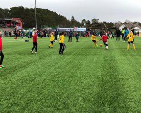 Fotballfest  på  Nysæter
