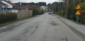 Husa  ristar  når  bilar  passerar  Hagamyro
